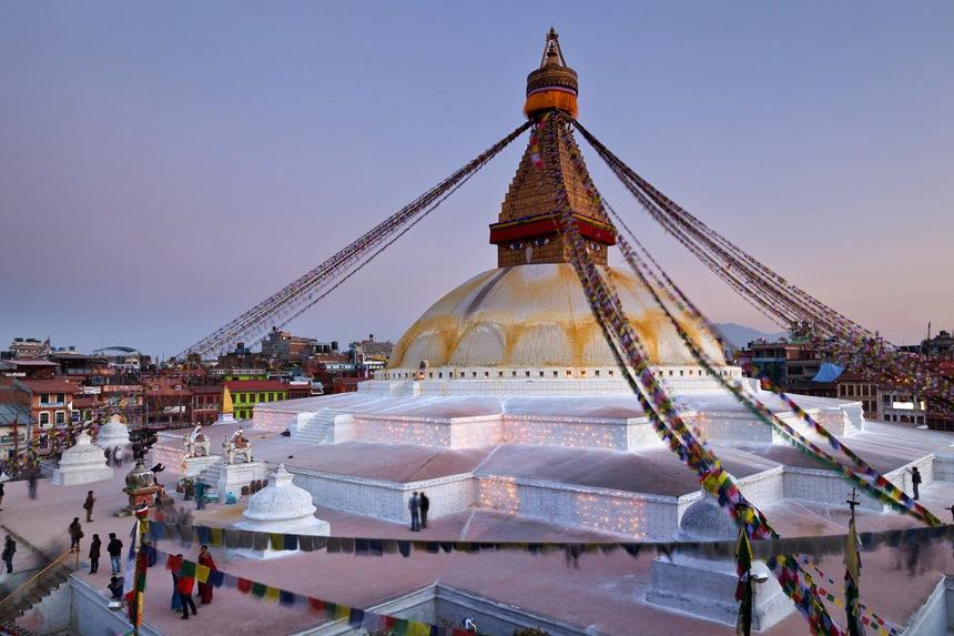 Bodhnath Stupa, Kathmandu, Nepal