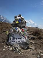 Scott Fischer's memorial, Nepal