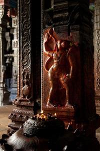 Hanuman statue, Sri Meenakshi Temple, Madurai, India